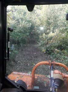 garden clearance and flailing